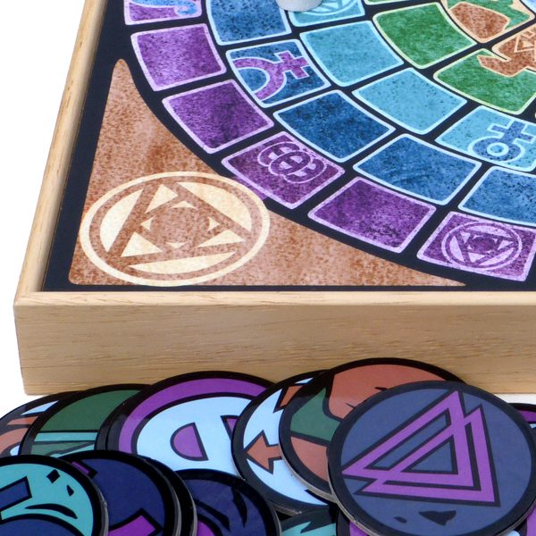 Elixir - A Board Game of Strategy