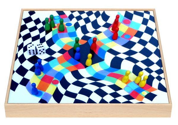 Pachisi Board Game by Adrenaline Brush
