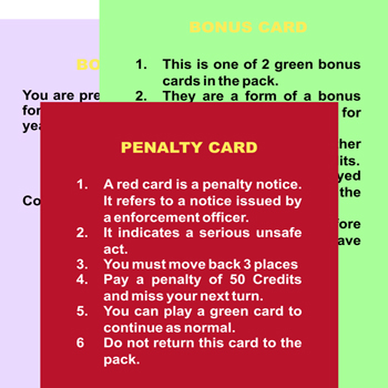 Cards National Express Game