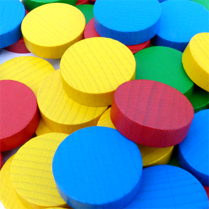 Checkers Counters for games