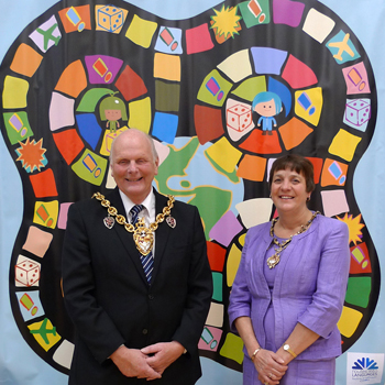 Mayor and Mayoress launch board game