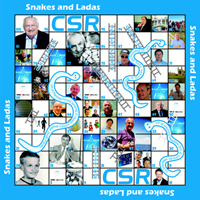 Personalised Snakes & Ladders