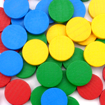 Small Playing Counters for counting games