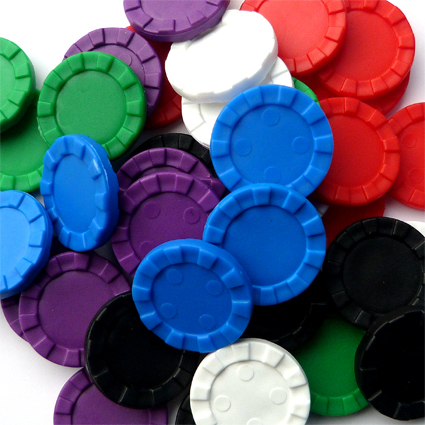 Stacking Counters - plastic stacking counters