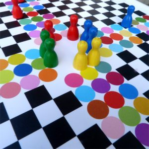 Pachisi - four player anicent board game