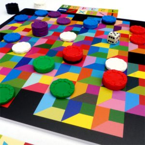 Square Route Board Game by Adrenaline Brush