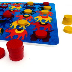 Yote - An ancient two player strategy board game