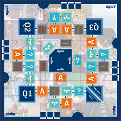 AMLIN Corporate Induction Board Game