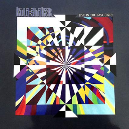 Kula Shaker - Design cover for comeback album