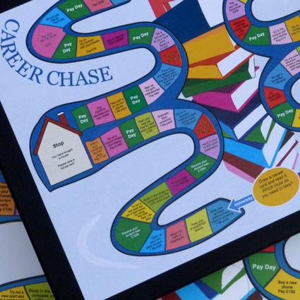 University of Southampton - career development board game